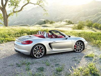 Новое поколение родстера Porsche Boxster